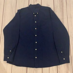 Merona Tailored Fit Button Down Shirt Size XL